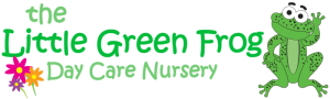 Little Green Frog Nursery logo